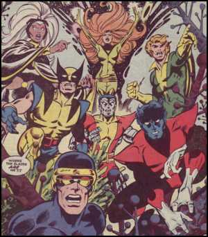 Wolverine and the X-Men pass through the Star-Gate