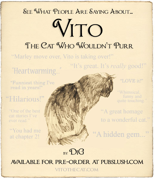 Pre-Order 'Vito, the Cat Who Wouldn't Purr' Today!